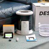 DESI S Set Lieferumfang steht auf dem Boden 160x160