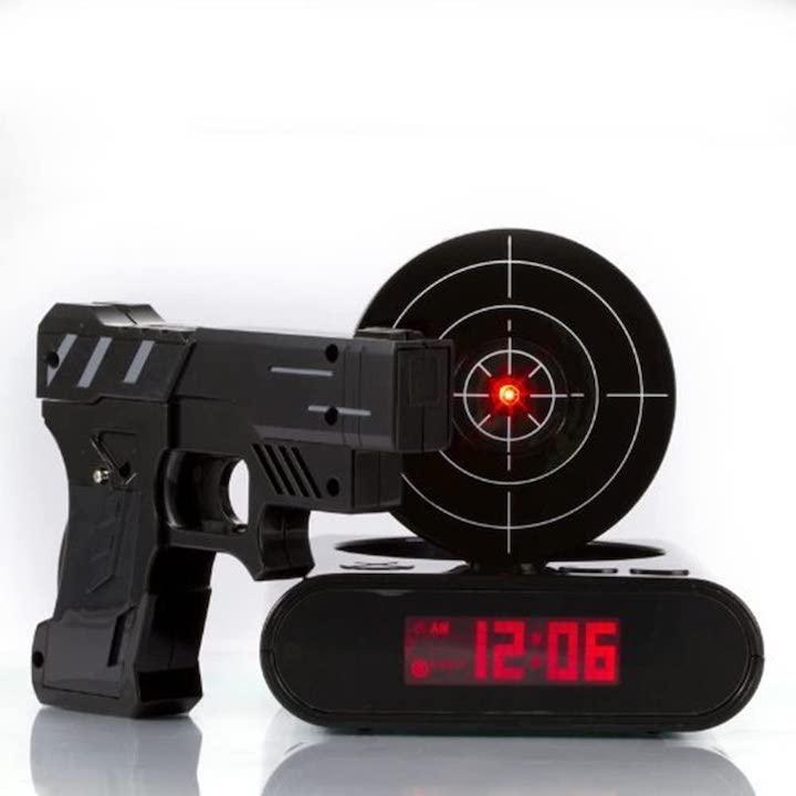 Gun Wecker Technik Gadgets