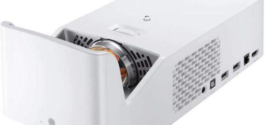 LG CineBeam HF65LS Adagio 2.0 schraege Seitenansicht 520x245