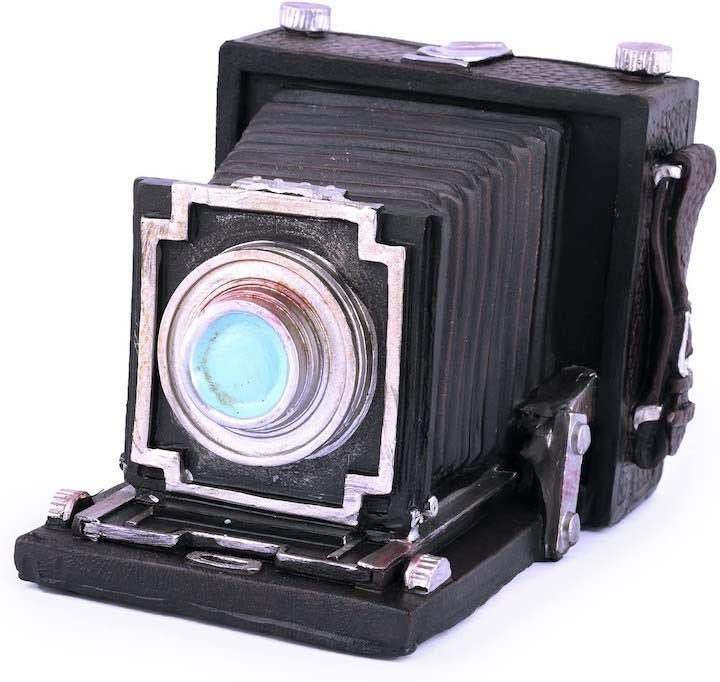 Spardose antike Kamera