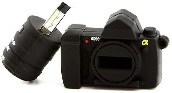 USB Stick im Kamera Format