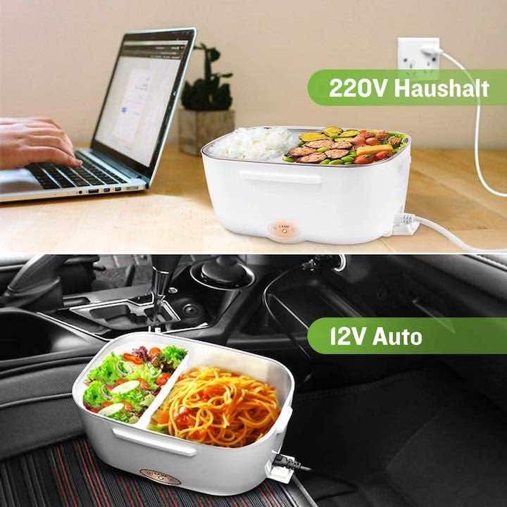 2 Volt und 230 Volt elektrische Lunchbox von Yissvic