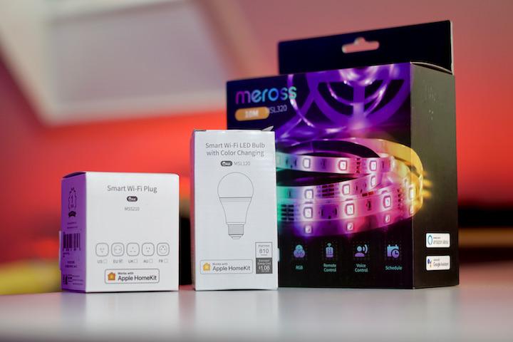 Meross Smart Home Produkte mit Apple HomeKit
