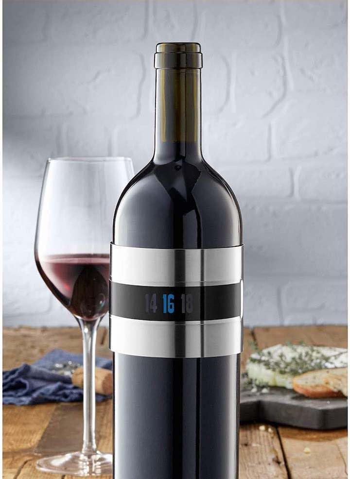 WMF Weinthermometer an Weinflasche