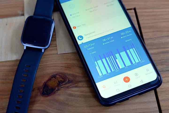 app steuerung einsicht ueberblick uber smarwatch daten