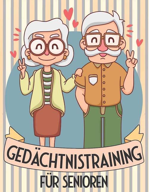 Buch Gedaechtnistraining fuer Senioren