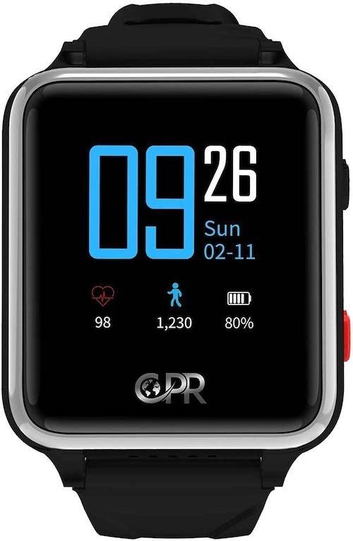 CPR Guardian II Smartwatch Frontansicht