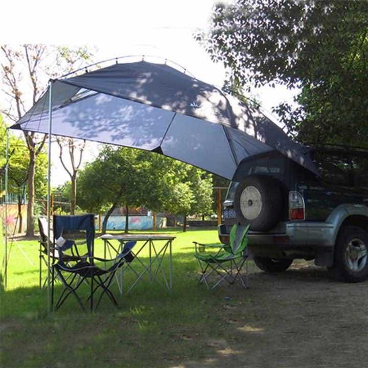 Heckklappenzelt Camping