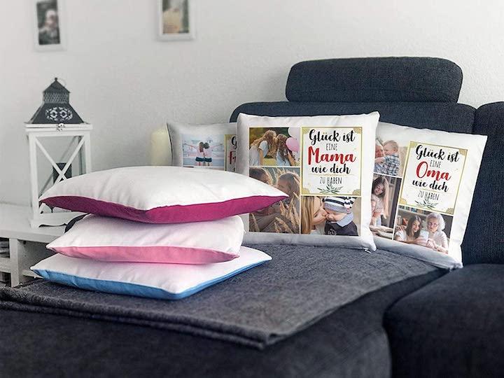 Sofa mit Print Royal Fotokissen