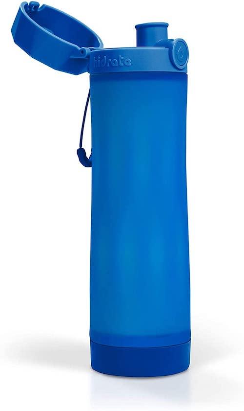 blaue Hidrate Spark 3 Trinkflasche