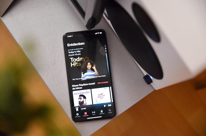 musik via smartphone und bluetooth abspielen