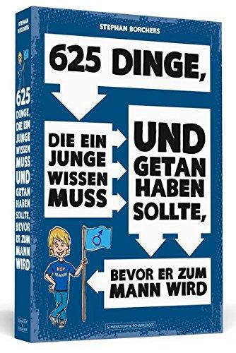625 Dinge fuer Jungs Buchcover