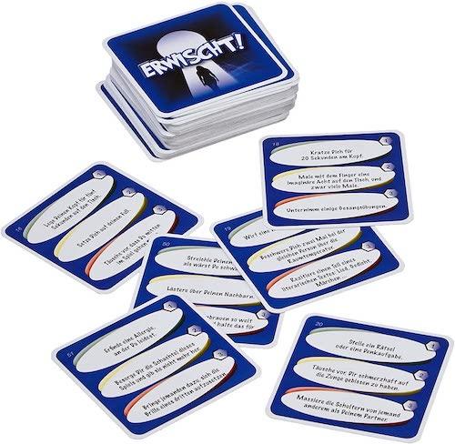 Erwischt Kartenspiel fuer Partys