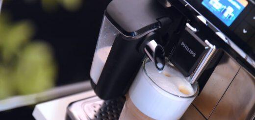 Latte Macchiato aus Philips 5400 Series Kaffeevollautomat