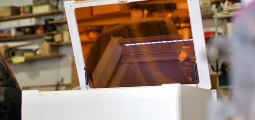 Mr Beam 2 dreamcut Lasercutter und Graviergeraet 520x245