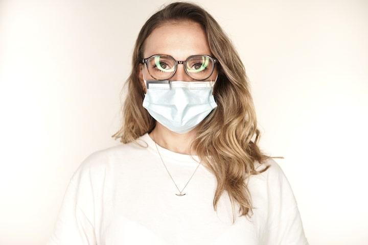 Aufsatz Mund Nasen Schutz