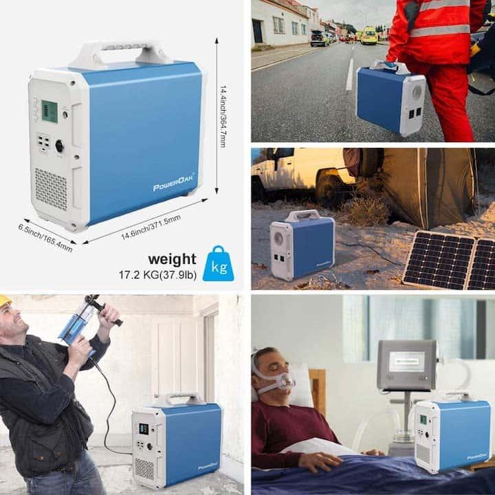 Einsatzgebiete PowerOak EB150 Solargenerator