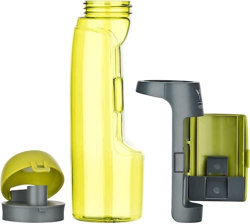 Einzelteile Trinkflasche