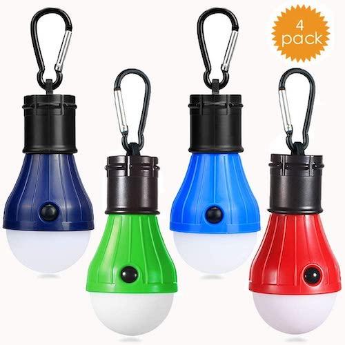 JTENG Camping Lampe 4er Pack