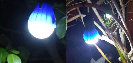 JTENG Camping Lampe haengt in Baum 520x245