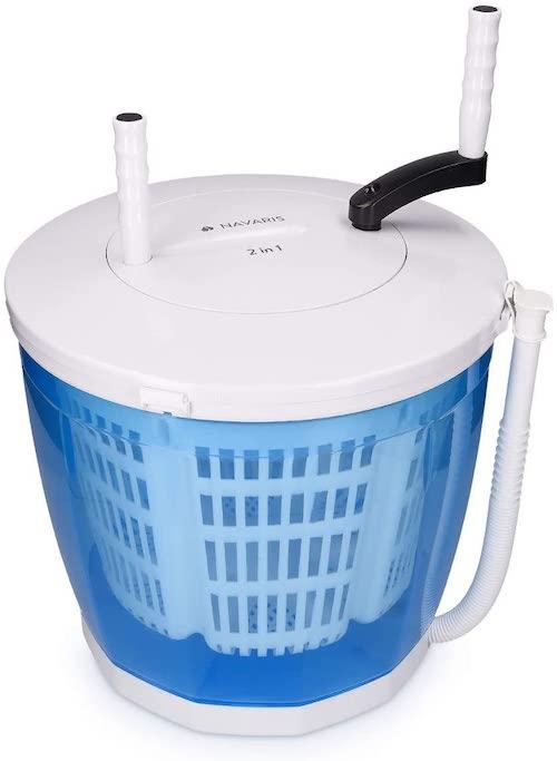 Navaris Mini Waschmaschine nah