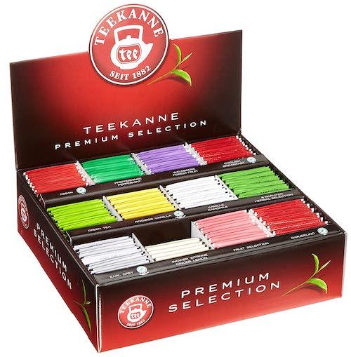 Teekanne Premium Selection als Aufsteller