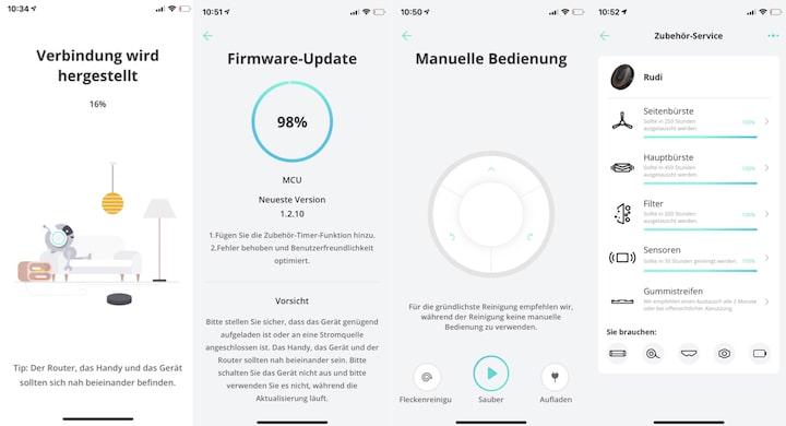 eufy Home App Einrichtung Screenshots