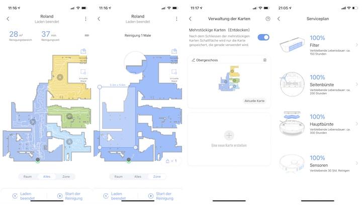 App Screenshot der Xiaomi Mi Home App