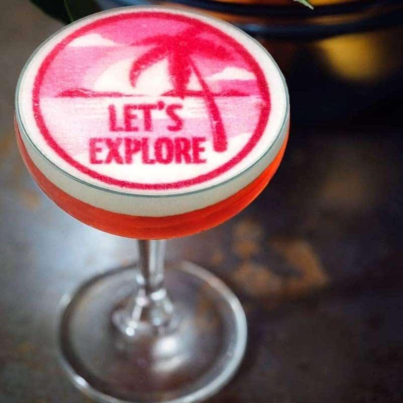 Coloranino auf einem cocktail
