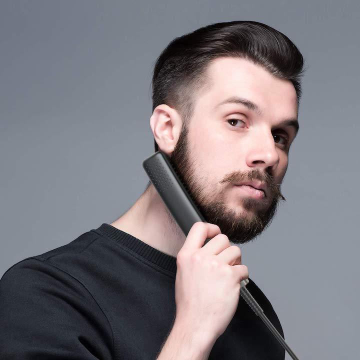 Lidasen Bartglaetter wird von Mann benutzt