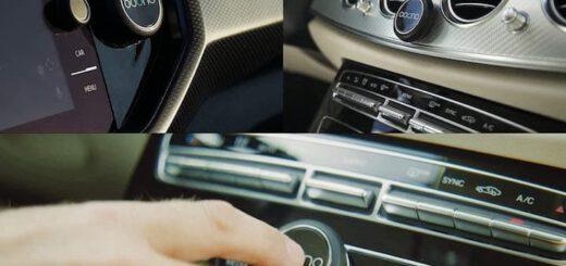 ooono Verkehrsalarm im Auto Cockpit angebracht 520x245
