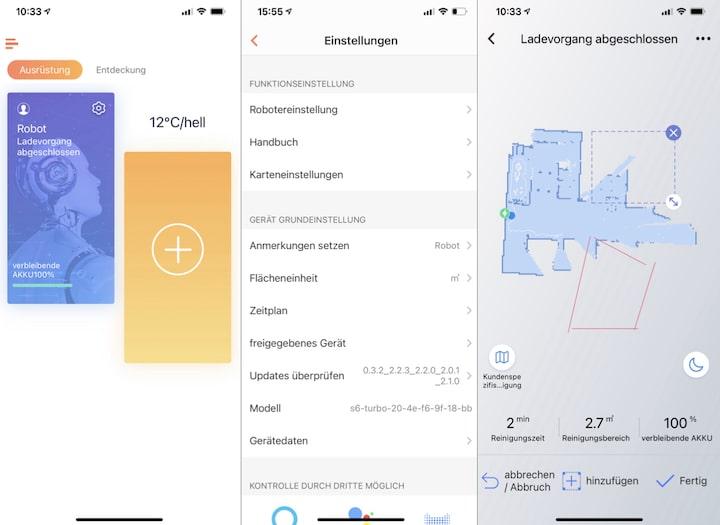 App Screenshot WeBack App