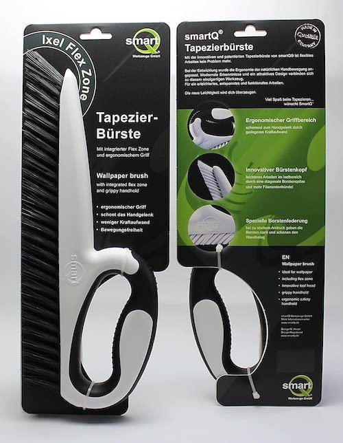 Tapezierbuerste SmartQ mit Verpackung