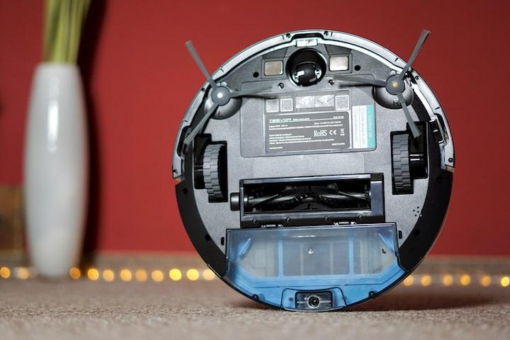 Unterseite eines hybriden Roboters