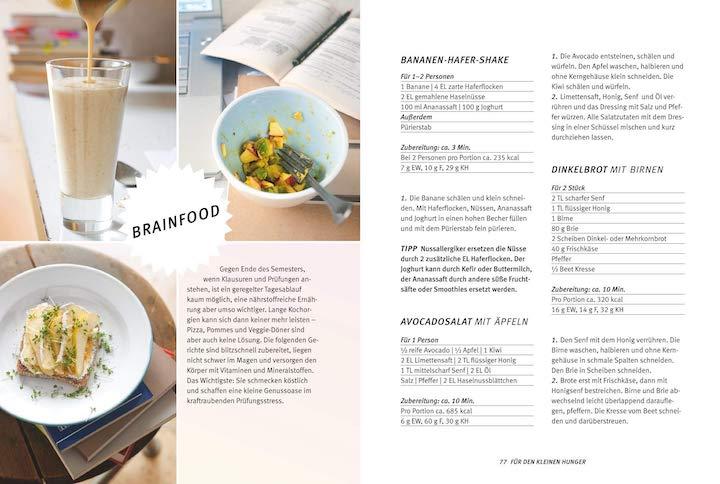 Auszug Kochbuch fuer Studenten