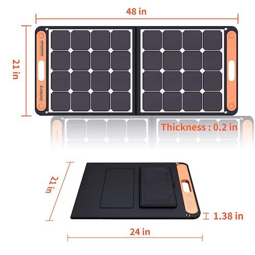 Masse Jackery SolarSaga 100 Panel