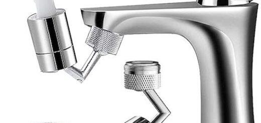 schwenkbarer Wasserhahnaufsatz von Honyear 520x245