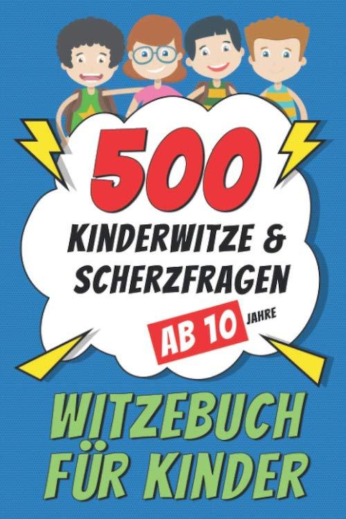 Buchcover Witzebuch fuer zehn Jahre alte Kinder