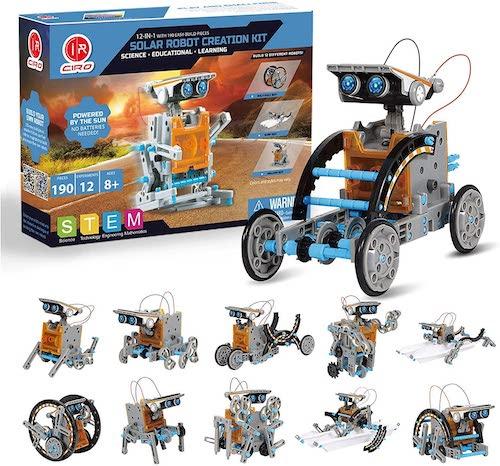 CIRO Solar Roboter Varianten und Verpackung