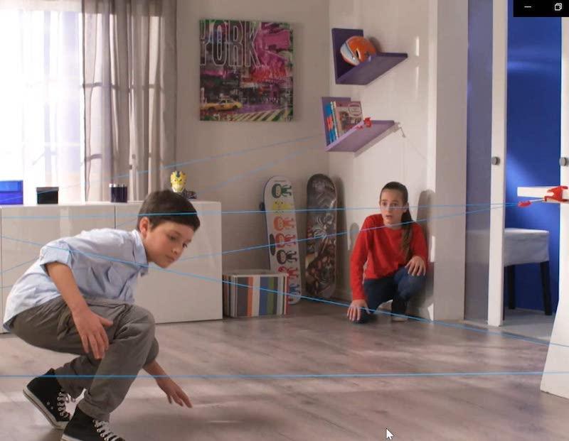 Chrono Bomb wird von Kindern gespielt