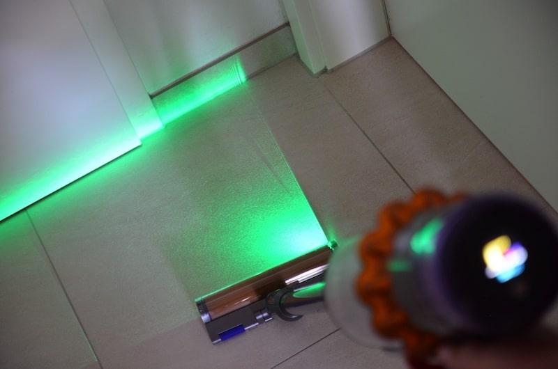Dyson Akkusauger mit Laser