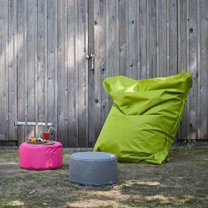 Lumaland XXL Sitzsack Outdoor als zubehoer fuer den Garten