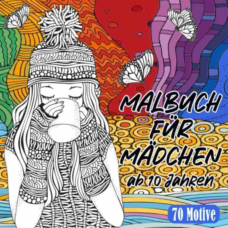 Maedchen Malbuch Cover