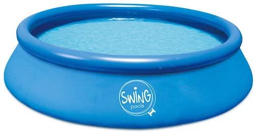 well2wellness Pool aufgebaut