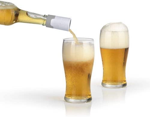 Bier wird mit Taste Hero eingeschenkt