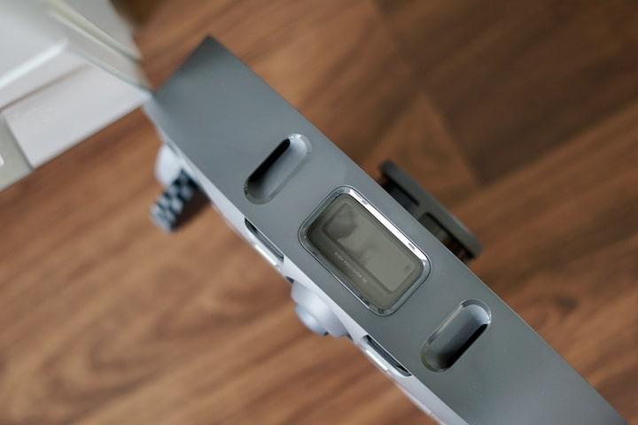 Sensor auf der Frontseite eines Saugroboters