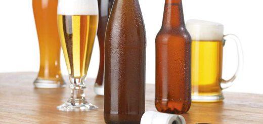 Taste Hero Aufsatz neben Bieren 520x245