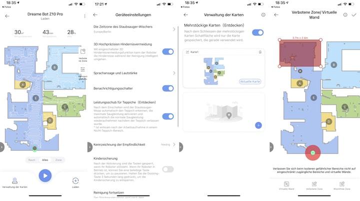Xiaomi Home App Screenshots Uebersicht