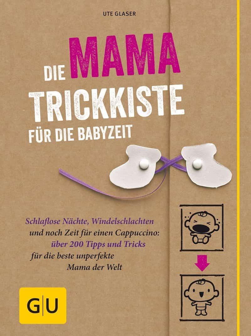 Buchcover Mama Trickkiste als Geschenk fuer werdende Muetter