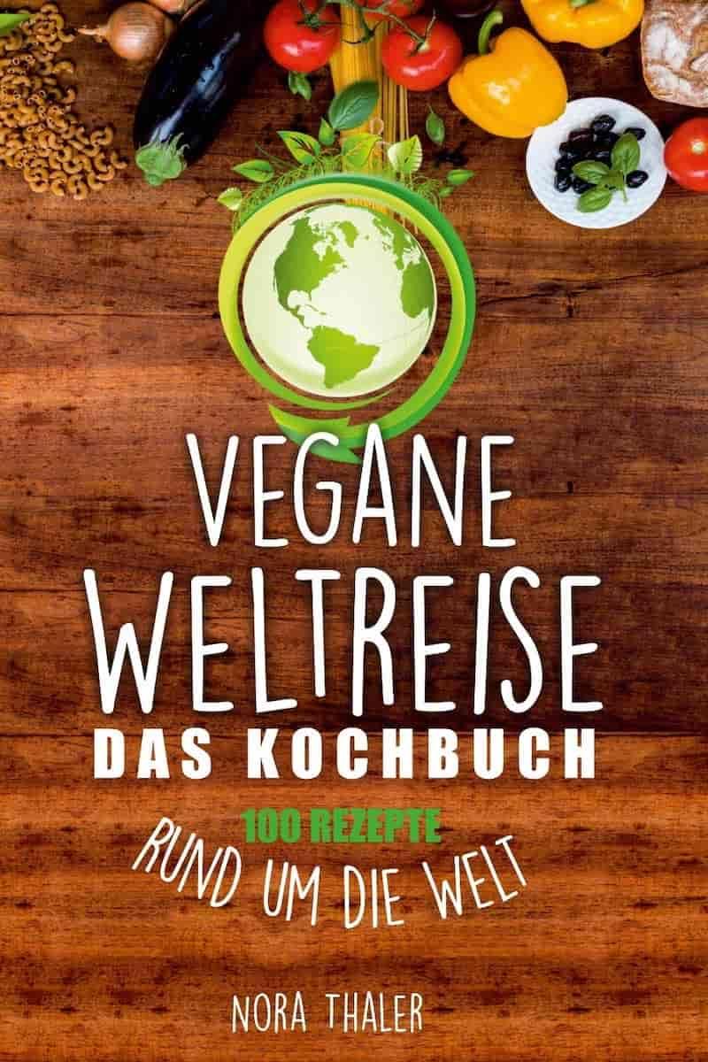 Buchcover Vegane Weltreise